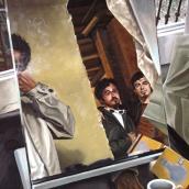 La Reforma. Óleo sobre lienzo
