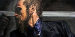 Miguel I, óleo s/ lienzo 30x60 cm - 2014