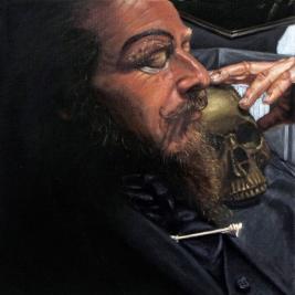 Miguel II, óleo s/ lienzo 27x27 cm - 2014