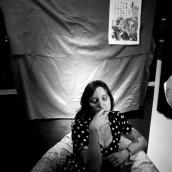 """Fotos para los cuadros Fernanda. Serie """"No Vulgares"""""""
